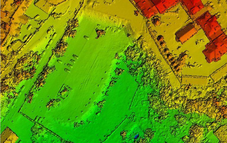 Model pokrycia terenu Digital Surface Model